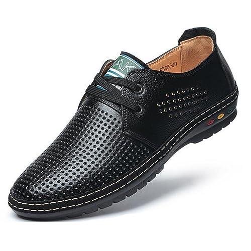 (ダダウン)DADAWEN 紳士靴 メンズ ビジネスシューズ 軽量 フォーマル靴 通気穴があり