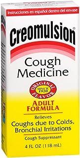 Creomulsion Cough Medicine Adult Formula 4 oz (Pack of 5)