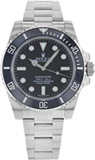 Submariner Black Dial Stainless Steel Automatic Mens Watch 114060
