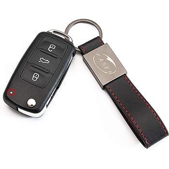 2 BATTERIEN Auto 2 Klapp Schlüssel Gehäuse Fernbedienung VW SKODA SEAT 3T