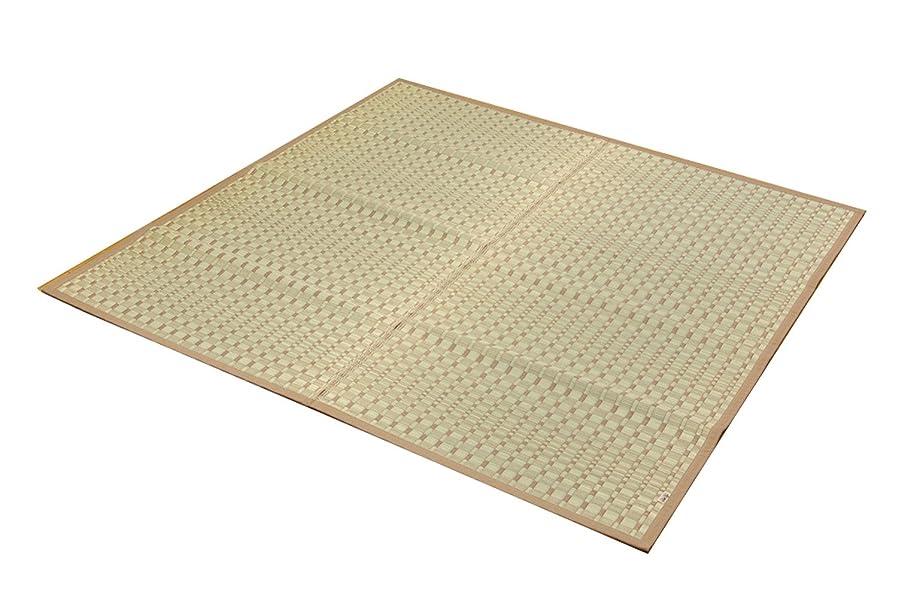 会話床ドライバイケヒコ い草ラグ カーペット 2畳 国産 掛川織 『奥丹後』 江戸間2畳 (約174×174cm)