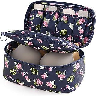 Caviotess Travel Portable Waterproof Packing Organizer Underwear Bra Storage Bag Case Make-up Cosmetic Pouch