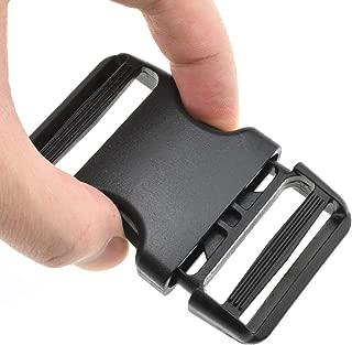 dual adjustable side release buckle