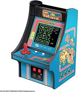My Arcade 3230  Ms. Pac-Man Micro Player - Collectible Mini Arcade Machine, Blue