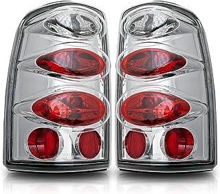 Smoke Lens//Chrome Housing Spyder Auto 111-CAV04-SM Euro Style Tail Light