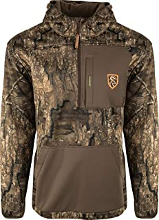 Image of Drake Waterfowl Endurance Kangaroo Pouch 1/4 Zip with Agion Active XL