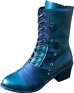DAIFINEY Combat Boots Bikerboot Worker Boots veterlaarzen winterlaarzen laarzen laarzen instaplaarzen sneeuwlaarzen winter...