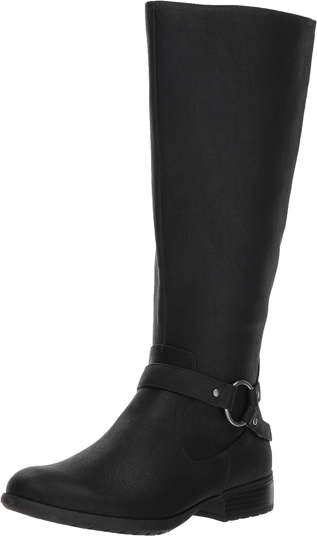 LifeStride Womens X-Felicity Wide Calf Tall Shaft Boot Knee High Boot