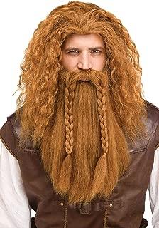 Viking Warrior Wig & Beard (Blonde)