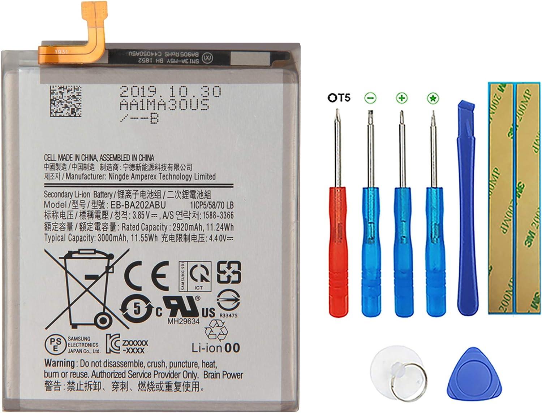 El Paso Mall SWARK Battery EB-BA202ABU Compatible Samsung A20e with Max 85% OFF Galaxy