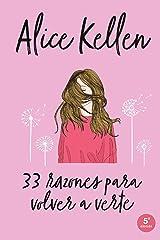 33 razones para volver a verte (Titania fresh) Versión Kindle