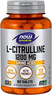 NOW® L-Citrulline, 1200 mg, 120 Tabs