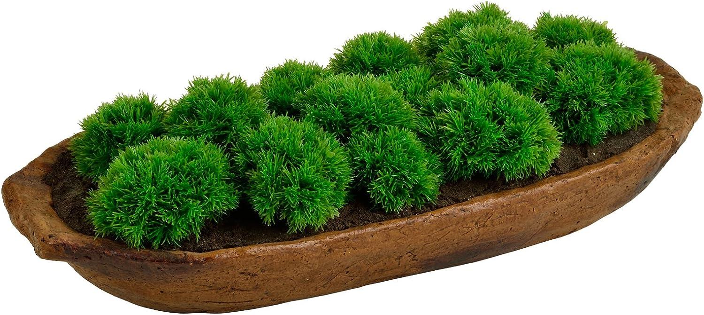 Picnic at Ascot Artificial Moss Arrangement