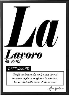 Quadro Moderno Ufficio e Casa - Lavoro - Cornice varie dimensioni - Motivazionale Skills Made in Italy Mod.037