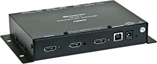 Crestron HD-DA-2 1-to-2 HDMI Distribution Amplifier & Audio Converter