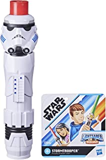 Star Wars Lightsaber Squad Imperial Stormtrooper Extendable Red Lightsaber Roleplay Toy for Kids Ages 4 and Up
