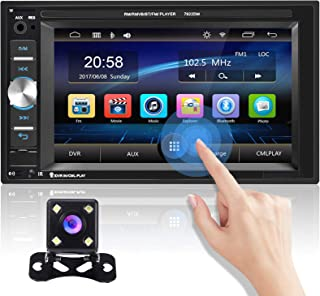 $58 » Universal Double Din Car Stereo 6.2 Inch Touch Screen Radio Car MP5 Player Support Bluetooth FM Receiver DVR Mirror Link f...