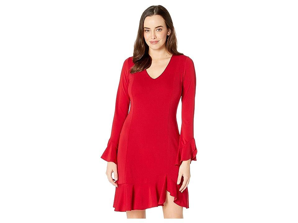 Karen Kane Sienna Dress (Red) Women