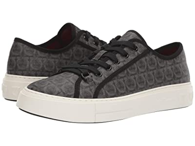 Salvatore Ferragamo Anson Sneaker (Grey/Black) Men