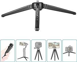 Neewer Aluminum Portable Mini Tabletop Tripod Max Load 6.61lbs for SLR Camera, Smartphone, Neewer S5B, Zhiyun Crane Crane M Crane 2 Crane V2 Smooth 4, DJI Osmo Mobile 2, Feiyu Vimble 2 Moza Air Gimbal