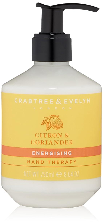 今日グレー気難しいクラブツリー&イヴリン Citron & Coriander Energising Hand Therapy 250ml/8.64oz並行輸入品