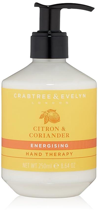 余剰キャプテンブライもちろんクラブツリー&イヴリン Citron & Coriander Energising Hand Therapy 250ml/8.64oz並行輸入品