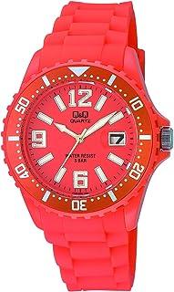Q&Q A430J005Y Reloj para Mujer, Orange