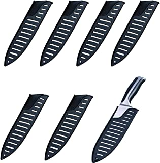 6 Pièces Plastique Couteau Gaine, Housse de Protection pour Couteaux de Cuisine, 8 Pouces Couteau Protecteur Ustensile, po...