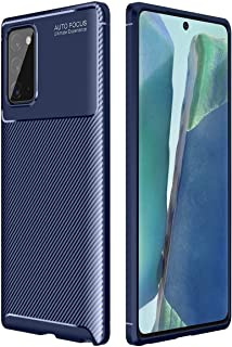 Case For (Samsung Galaxy S20 FE) Carbon Fibre Grip Slip-Resistant Soft TPU Silicone Shockproof Protection - Cover For Gala...
