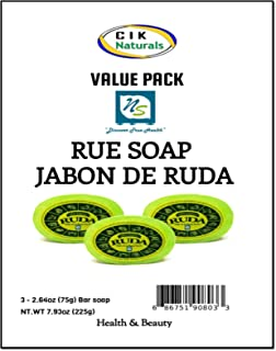 Rue Soap Jabon De Ruda Value Pack (3 bars)