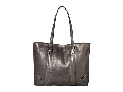 Frye Melissa Shopper (Carbon) Hobo Handbags