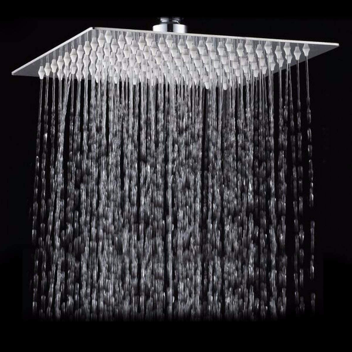 SEYMM 10 Ranking TOP1 Inch 2525cm Direct stock discount Square Top Spray S High Pressure Shower 304