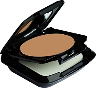 Palladio Dual Wet and Dry Foundation, Rich Mocha, Apply Wet for Maximum, Full Coverage or Dry for Light Finishing and Touchups, Minimizes Fine Lines, Helps Prevent Breakouts, Includes Sponge