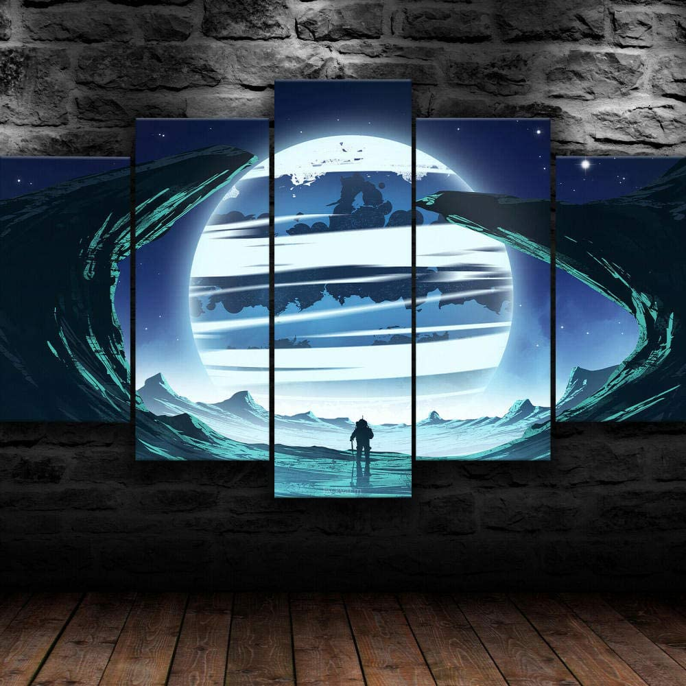 JIUJ - Wall Art Decor Poster Print Finally resale start Pictures Pieces Max 90% OFF 5 Canvas On