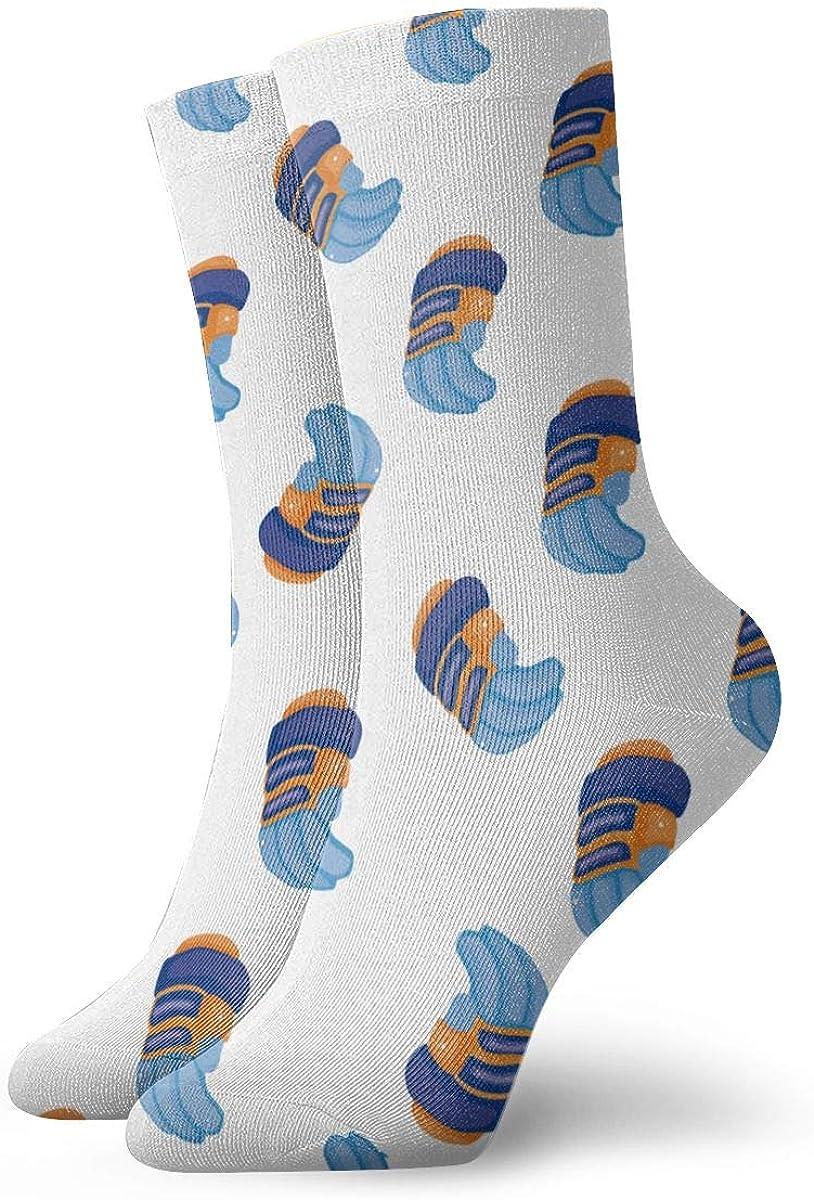 Fashion Crew Dress Socks for Adult Superior Seasonal Wrap Introduction Work Teen Youth Sports Tre