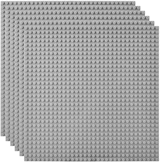 Lekebaby Classic Baseplates Building Base Plates for Building Bricks 100% Compatible with Major Brands-Baseplate 10