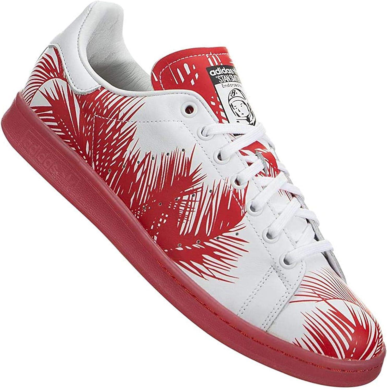 adidas Originals X Pharrell Williams PW Stan Smith BBC Palm S82072 Rojo