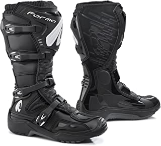 Forma Terrain EVO Off-Road MX Motorcycle Boots (Black, Size 7 US/Size 41 Euro)