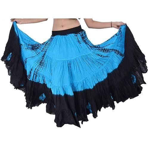 231cbef897 Dancers World Ltd (UK Seller) 25 Yard Yards Tribal Gypsy Cotton Belly  Dancing Dance