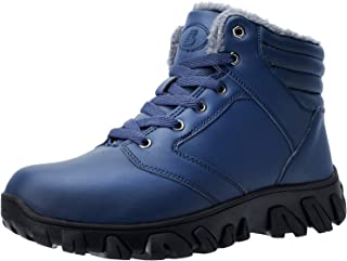 Men Snow Boots Anti-Slip Waterproof Outdoor Winter Shoes