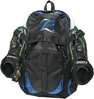 Xiami Leyuan Pro Racing Speed Inline Skates/Ice Blade Skate/Inline Skate Backpack Also for Travel Shool Bag