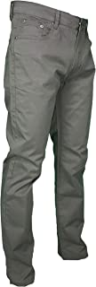Pantalone Uomo Estivo 5 Tasche Regular Fit Gamba Dritta Elasticizzato Vita Alta Colorato
