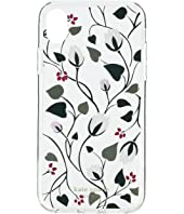 Kate Spade New York - Deco Bloom Clear Phone Case for iPhone XR