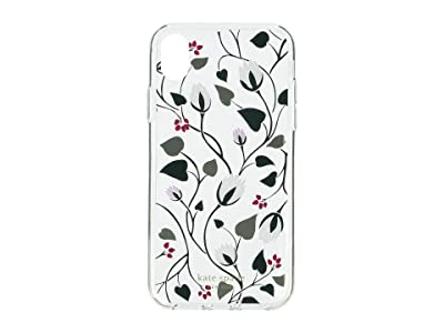 Kate Spade New York Deco Bloom Clear Phone Case for iPhone XR (Clear Multi) Cell Phone Case