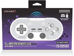 Retro-Bit Legacy16 2.4 GHz Wireless Controller - Classic Grey(Nintendo Switch//)