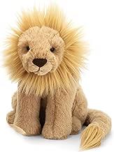 Jellycat Leonardo LionStuffed Animal, Medium, 11 inches