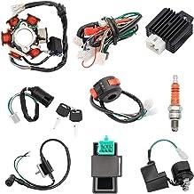 Quad Wire Harness Complete Electrics Stator Coil CDI...