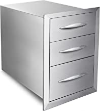 Best stainless steel bbq drawers Reviews
