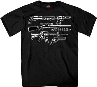Hot Leathers Unisex-Adult T-Shirt GML1005, BLACK