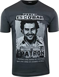 Pablo Escobar El Patron Del Mal Cocaine Drug Lord Mens Shirt